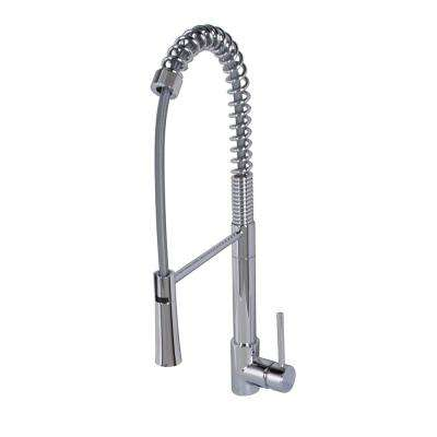 Laurelton Single-Handle Pull-Out Sprayer Kitchen Faucet in Chrome