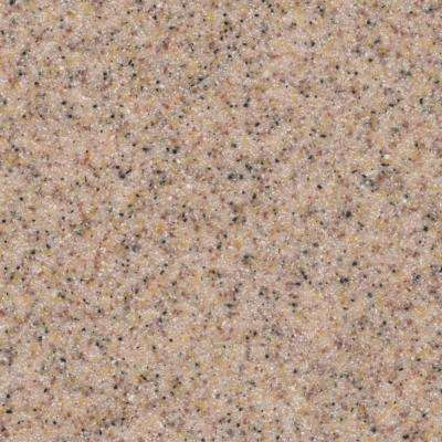 2 in. Solid Surface Countertop Sample in Desert Sand