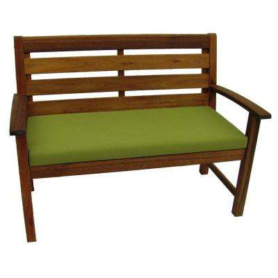 Cumberland Smoked 37 in. H x 50 in. W Patio Bench