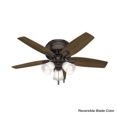 Echo Bluff 42 in. LED Indoor Premier Bronze Ceiling Fan
