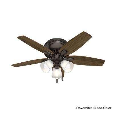 Echo Bluff 42 in. LED Indoor Premier Bronze Ceiling Fan