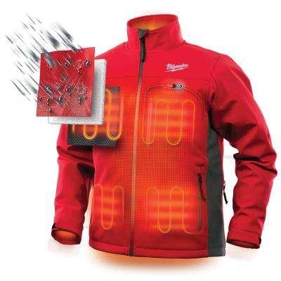 Men's M12 12-Volt Lithium-Ion Cordless Heated Jacket (Jacket Only)