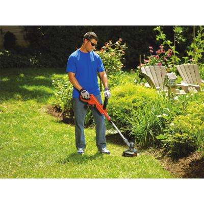 12 in. 20V MAX Lithium-Ion Electric Cordless 2-in-1 String Grass Trimmer/Lawn Edger with Bonus 3-Pack of Spools Included