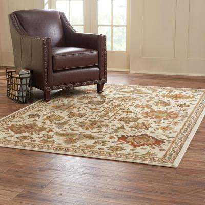 Grayson Ivory 4 ft. x 6 ft. Area Rug