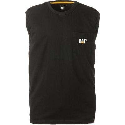 Trademark Men's Cotton Sleeveless Pocket T-Shirt