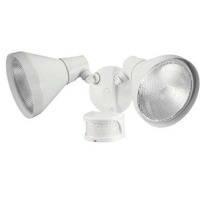 110 Degree White Motion Sensing Outdoor Security Light
