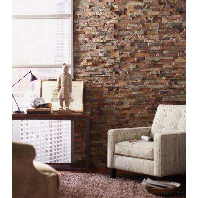 Natural Earth Ledger Corner 6 in. x 6 in. Natural Slate Wall Tile (2.5 sq. ft. / case)