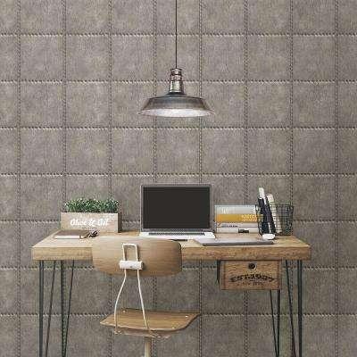 Silver Sheet Metal Rivets Wallpaper