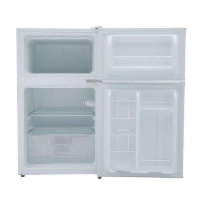 3.1 cu. ft. Double Door Mini Refrigerator in White, ENERGY STAR