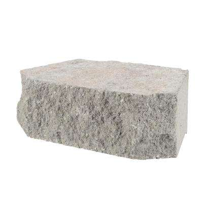 11.5 in. x 7 in. x 4 in. Pewter Concrete Retaining Wall Block (144 Pieces / 46.5 Face ft. / Pallet)