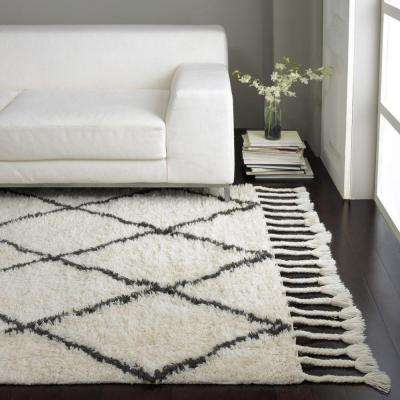 Fez Shag Natural 3 ft. x 10 ft. Runner Rug