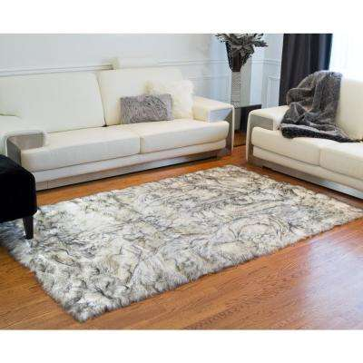 Luxe L 100 Faux Fur Area Rugs Rugs The Home Depot