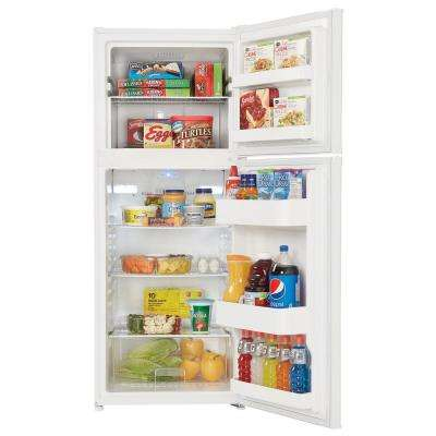 12.3 cu. ft. Top Freezer Refrigerator in White