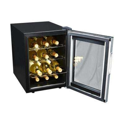 Single Zone 13.6 in. 12-Bottle Wine Cooler