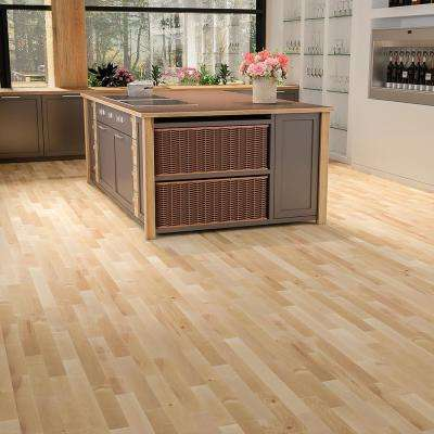 Canadian Northern Birch Natural 3/4 in. T x 2-1/4 in. Wide x Varying Length Solid Hardwood Flooring (20 sq. ft. / case)