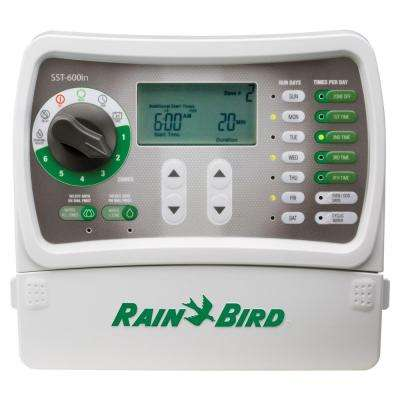 6-Station Indoor Simple-To-Set Irrigation Timer