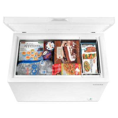 7.0 cu. ft. Compact Freezer in White