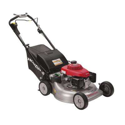21 in. 3-in-1 Variable Speed Gas Self Propelled Mower with Blade Stop