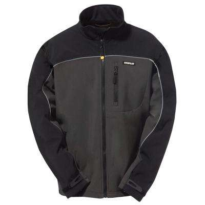 Soft Shell Men's Polyester/Spandex Water Resistant Jacket