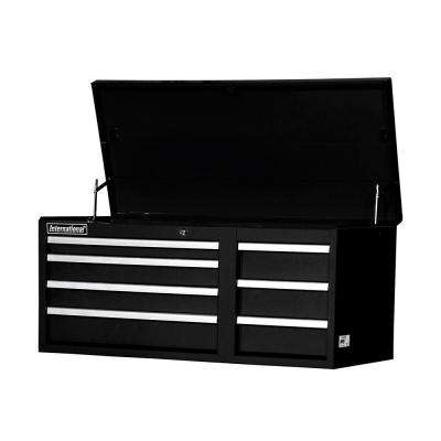 Workshop Series 42 in. 7-Drawer Top Chest, Black
