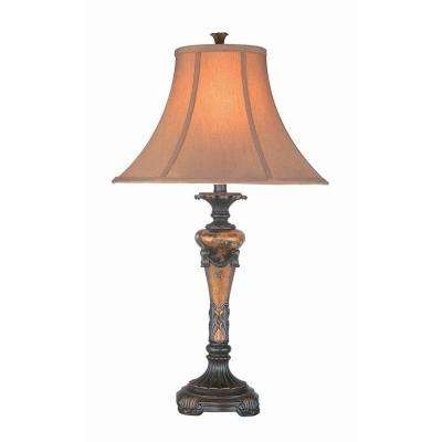 31.25 in. Oil-Rubbed Bronze Table Lamp