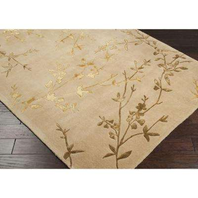 Alicia Tan 8 ft. x 8 ft. Round Area Rug