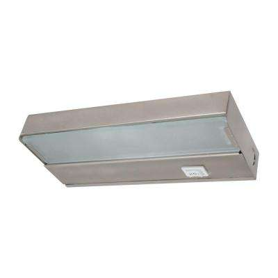 8 in. Xenon Pewter Low Profile Under Cabinet Light Fixture