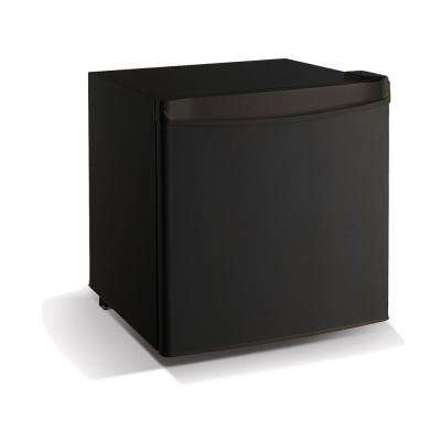 1.7 cu. ft. Mini refrigerator with Chiller in Black