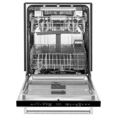 Top Control Dishwasher in Stainless Steel with Stainless Steel Tub and Dynamic Wash Arms, 44 dBA