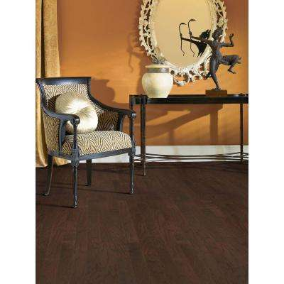 Hickory French Roast 3/8 in. x 4-3/4 in. Wide x Random Length Engineered Click Hardwood Flooring (33 sq. ft. / case)