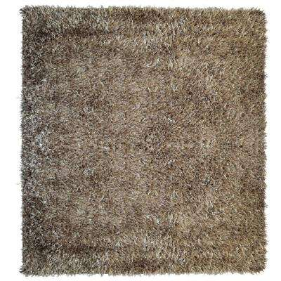 City Sheen Clay 7 ft. x 7 ft. Square Area Rug