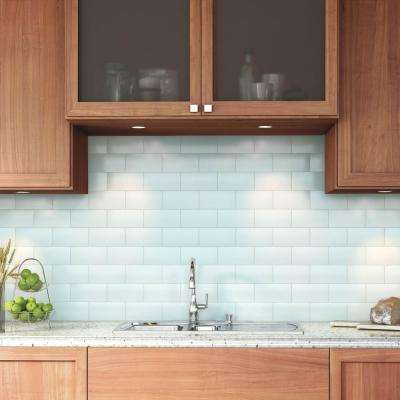Restore Cool Mint 3 in. x 6 in. Glazed Ceramic Subway Wall Tile (12.5 sq. ft. / case)