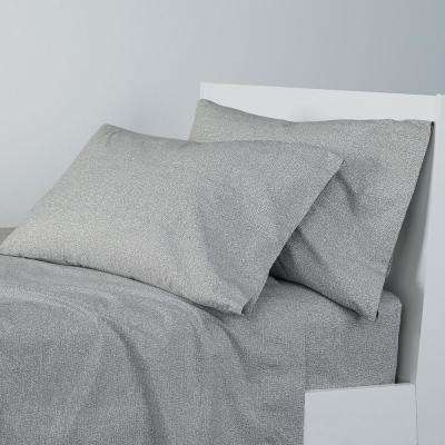Lofthome Maze Organic Percale 200 Thread Count Sheet Set