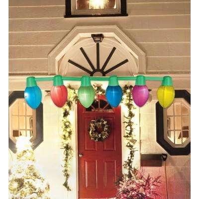 9 ft. Hanging Light Parade Inflatable Christmas Bulbs