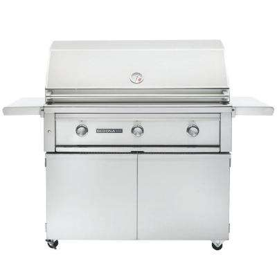 3-Burner Stainless Steel Natural Gas Grill