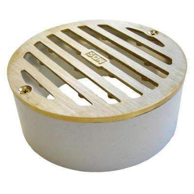 4 in. Brass Grate