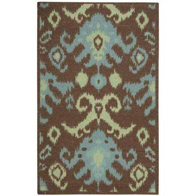 Vista Chocolate 2 ft. 6 in. x 4 ft. Accent Rug