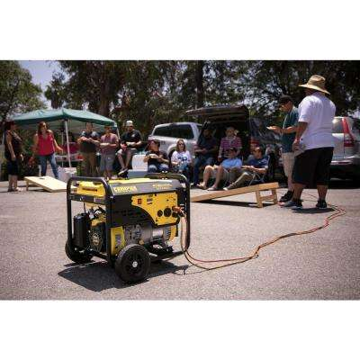 3,800-Watt Gasoline Powered Recoil Start RV Ready Portable Generator