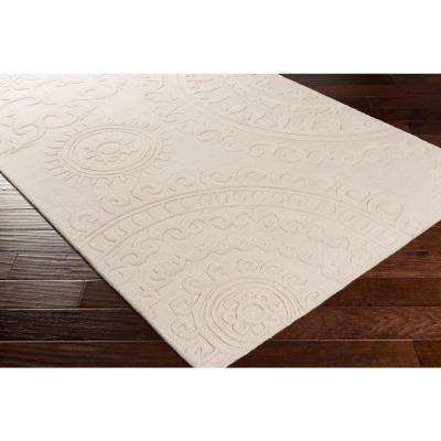 Pollack Sloane Ivory 8 ft. x 10 ft. Indoor Area Rug