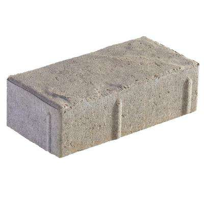Panorama Demi 3-pc 7.75 in. x 7.75 in. x 2.25 in. Antique Pewter Concrete Paver (240 Pcs. / 103 Sq. ft. / Pallet)