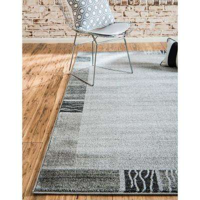 Del Mar Sarah Light Gray 5' 0 x 8' 0 Area Rug