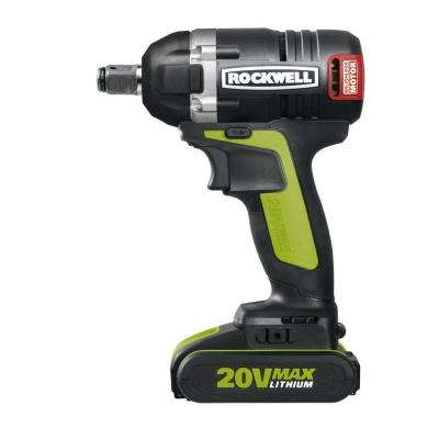 20-Volt Lithium-Ion 1/2 in. Brushless Impact Wrench