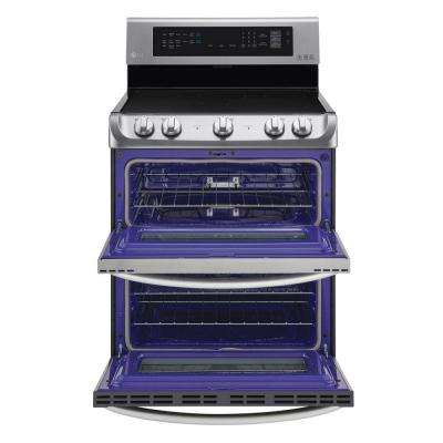 7.3 cu. ft. Double Oven Electric Range with ProBake Convection Oven in Stainless Steel