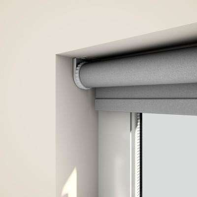 Cut-to-Size Beige Cordless Blackout Fabric Roller Shade 47.5 in. W x 72 in. L