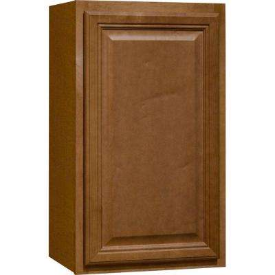 18x30x12 in. Cambria Wall Cabinet in Harvest