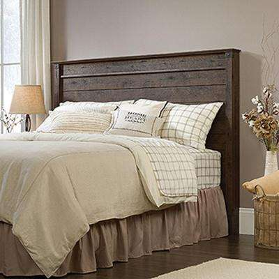 Carson Forge Collection Full/Queen Headboard in Coffee Oak