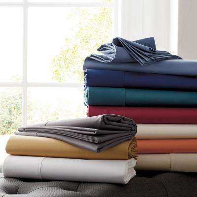 Wrinkle-Free 300-Thread Count Sateen Pillowcase (Set of 2)
