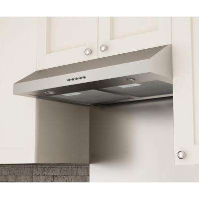 Slim SD330 30 in. Under-Cabinet Range Hood in Stainless Steel