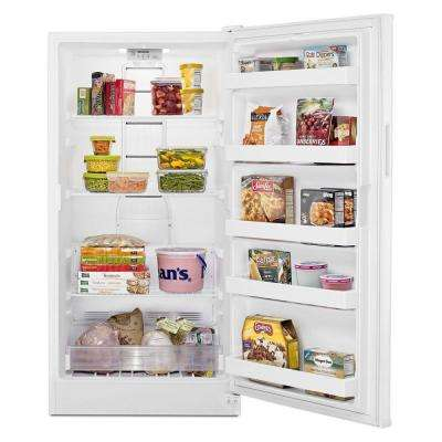 15.7 cu. ft. Frost Free Upright Freezer in White