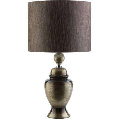 Armstrong 24.75 in. Metallic Gold Indoor Table Lamp